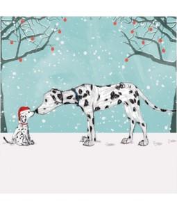 Eskimo Kiss - Small Christmas Card Pack