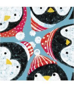 Peeking Penguins - Small Christmas Card Pack