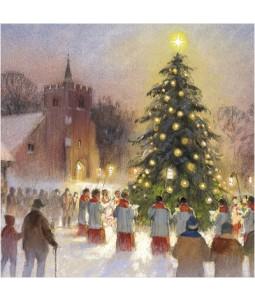 Christmas Carols - Small Christmas Card Pack