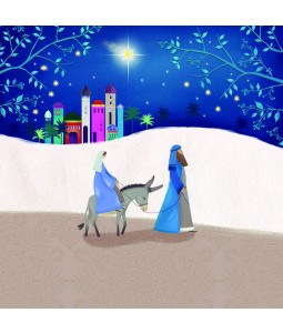 Stars in the Bright Sky - Small Christmas Card Pack