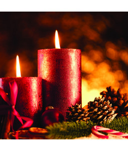 A Christmas Candle - Small Christmas Card Pack
