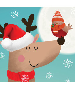 Cute Friend - Large Christmas Card Pack