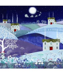 Midnight Village - Small Christmas Card Pack