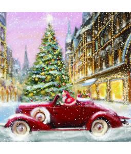 Santa's Ride - Large Christmas Card Pack