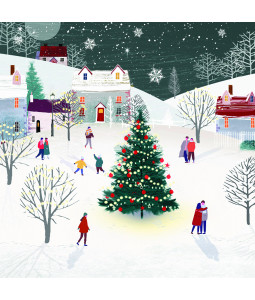 Late Night Walks - Small Christmas Card Pack