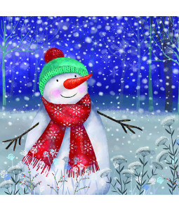 Snowman's Joy - Large Christmas Card Pack