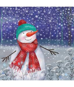 Snowman's Joy - Small Christmas Card Pack
