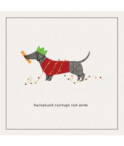 Dachshund - Small Christmas Card Pack