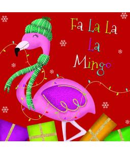 Fa La Mingo - Large Christmas Card Pack