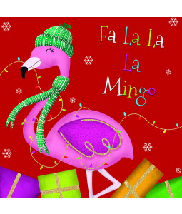 Fa La Mingo - Small Christmas Card Pack