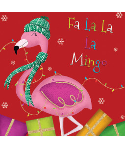 Fa La Mingo - Small Christmas Card Pack