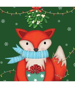 Cute Fox - Large Christmas Card Pack