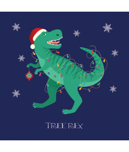 Tree Rex - Small Christmas Card Pack