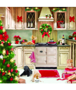 A Christmas Kitchen - Small Christmas Card Pack