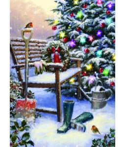 Festive Garden - Christmas Card Pack