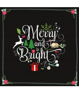 Merry and Bright - Small Christmas Card Pack
