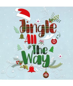 Jingle All The Way - Large Christmas Card Pack