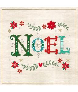 Noel - Small Christmas Card Pack