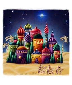Colourful Bethlehem - Large Christmas Card Pack