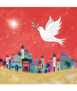Flying Dove - Large Christmas Card Pack