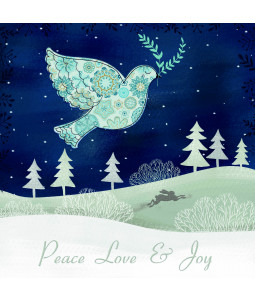 Peace Dove - Small Christmas Card Pack