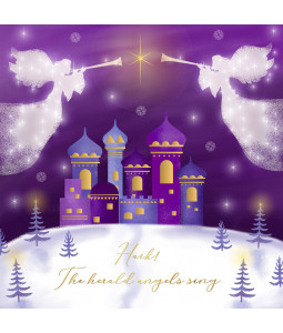 Angel's Sing - Large Christmas Card Pack