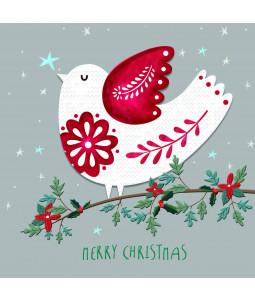Scandi Robin - Large Christmas Card Pack