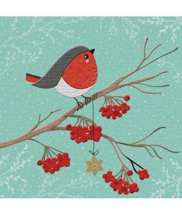 Christmas Robin - Small Christmas Card Pack