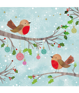 Festive Time - Large Christmas Card Pack
