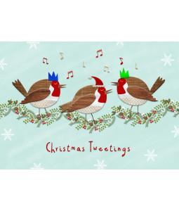 Christmas Tweetings- Christmas Card Pack