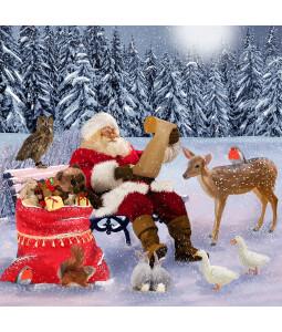 Christmas List - Small Christmas Card Pack