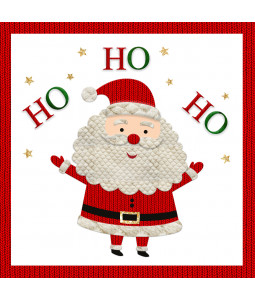 Ho Ho Ho - Large Christmas Card Pack