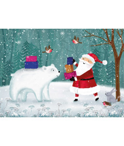 Wintertime Santa - Christmas Card Pack