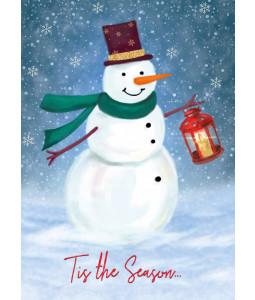 Snowman's Lantern - Christmas Card Pack