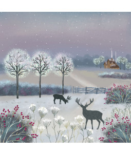 Frosty Night - Large Christmas Card Pack