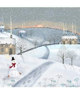 Winter Sunset - Large Christmas Card Pack