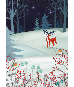 Midnight Deer - Christmas Card Pack