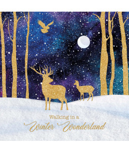 Winter Deer - Small Christmas Card Pack