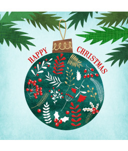 Christmas Bauble - Large Christmas Card Pack