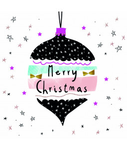 Festive Bauble - Large Christmas Card Pack