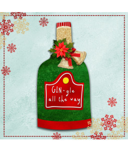 Gin-gle All the Way - Small Christmas Card Pack