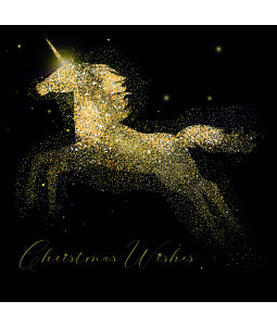 Sparkle Unicorn - Small Christmas Card Pack