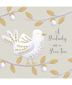 Golden Partridge - Small Christmas Card Pack