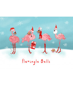 Flamingle Bells - Christmas Card Pack