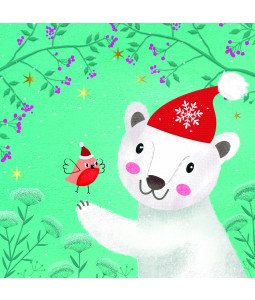 Polar Bear and Friend - Small Christmas Card Pack