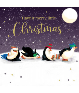 Penguin Cheer - Small Christmas Card Pack