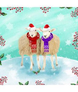 Christmas Sheep - Small Christmas Card Pack