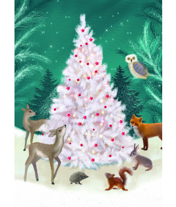 Gather Around the Tree - Christmas Card Pack