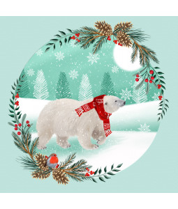 Winter Stroll - Large Christmas Card Pack (