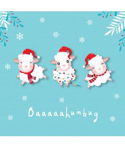 BAAAA Humbug - Large Christmas Card Pack